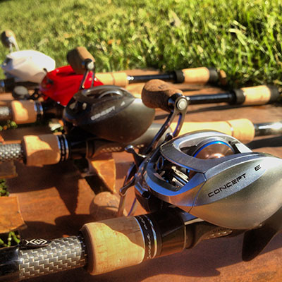 13 fishing concept baitcasting reels preview for 13 fishing concept kp