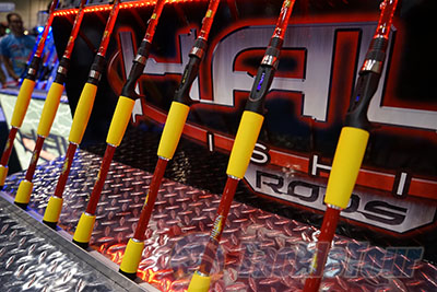 Icast 2015 coverage halo rods for Halo fishing rods