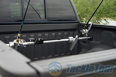 Truck bed fishing rod holder bedrack fishing rod holder for Fishing pole rack for truck